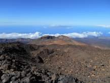 Parc national du Teide avec vue sur le pico viejo et la Gomera