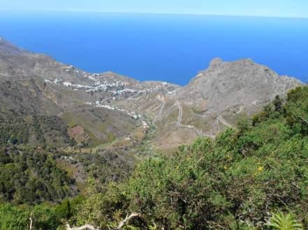 Massif d'Anaga - vue vers Taganana