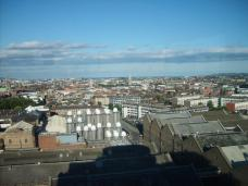Vue du Guinness Storehouse