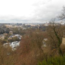 Vue du MUDAM sur Luxembourg