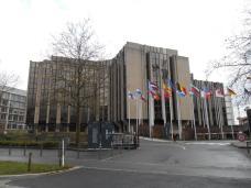 Cour des comptes - plateau du Kirchberg (Luxembourg)