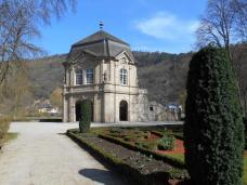 Pavillon rococo dans le parc municipal (Echternach)