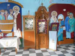 Eglise Aghios Nikolaos à Fyropotamos (Milos)