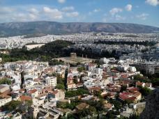 Vue sur le Temple de Zeus – l'Olympiéion (Athènes)