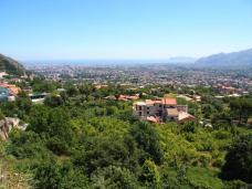 Vue de Monreale vers Palerme