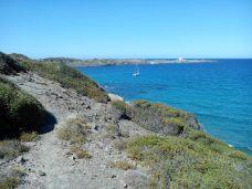 Vue sur le phare de Favaritx (parc naturel de S'Albufera)