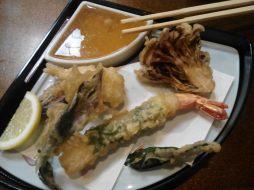 Dîner japonais - tempuras (Takayama)
