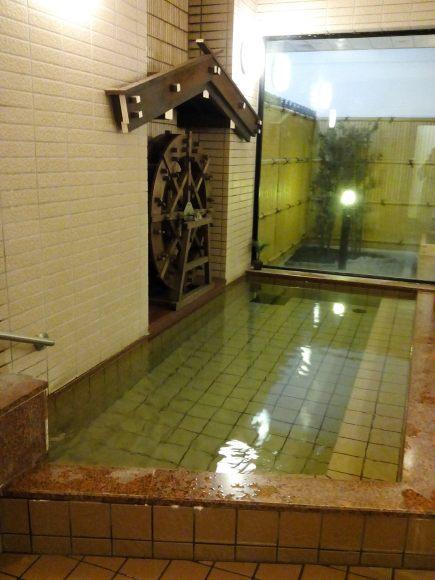Onsen - bain intérieur (Takayama)