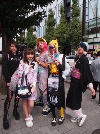 Cosplays à Harajuku