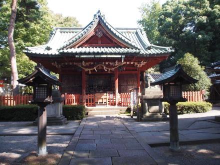 Sanctuaire Ozaki jinja shrine (Kanazawa)
