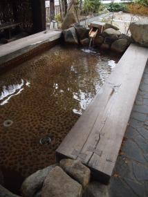 Bain de pied public Hida Hanasato (Takayama)
