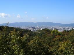 Vue du temple de Kiyomizu-dera (Kyoto)