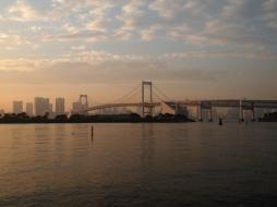Rainbow bridge (Quartier d'Odaiba / Tokyo)