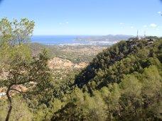 Vue du mont Sa Talaia (Ibiza)
