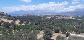 Vue de Kamilari (Crète)