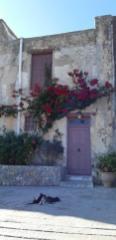 Pisso Moni Preveli ou monastère de derrière (Crète)