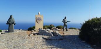 Monument aux morts de Preveli (Crète)