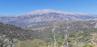 Vue sur le Mont Ida (Crète)