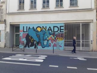 Dans les rues de Belleville (Paris 19ème)
