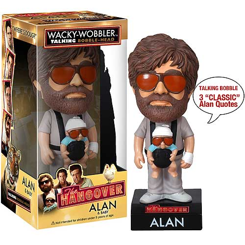 Alan and Baby, The Hangover, Talking Bobble Head