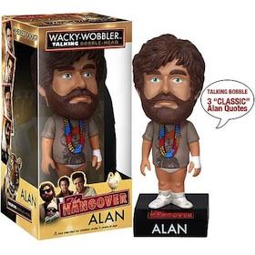 Alan The hangover - Talking Bobble Head