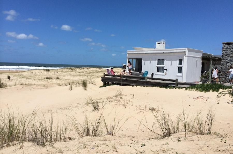La casa en la playa