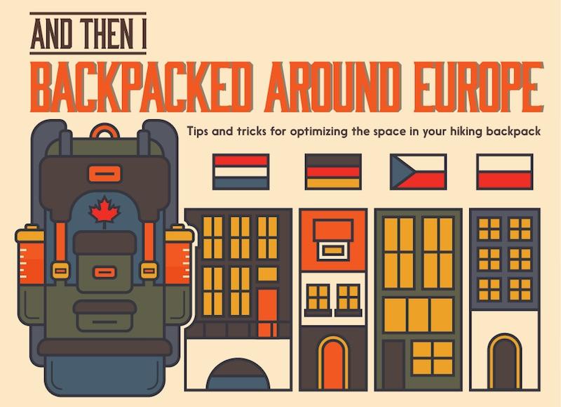 Consejos para viajar de mochilero por Europa