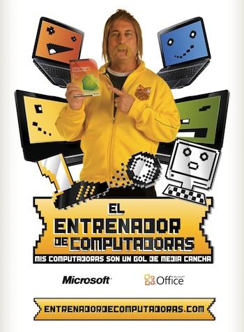 Eber Ludueña, el entrenador de computadoras de Office