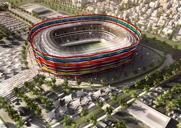 Los estadios de la Copa Mundial de Qatar 2022