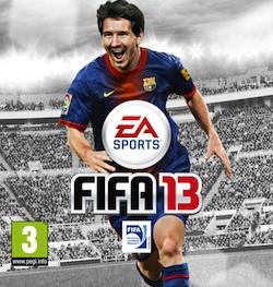 FIFA 13: Messi en la tapa