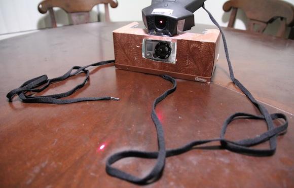 Usos para la GoPro: Gatos vs Lasers