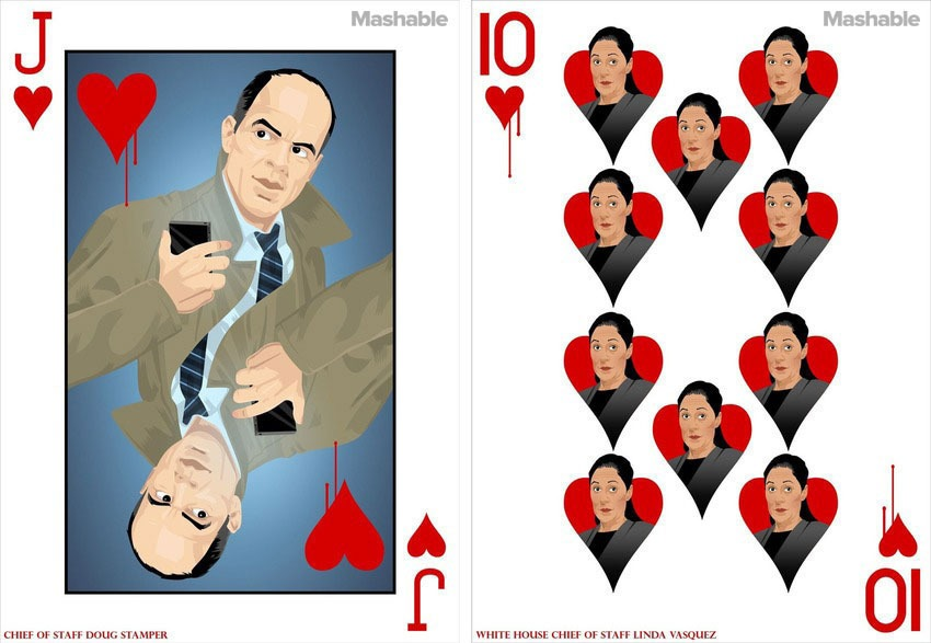 House of Cards: Las cartas de poker