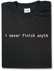 Nunca termino nada