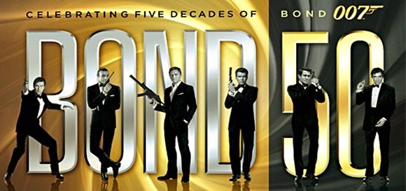 James Bond 007 y su 50 Aniversario