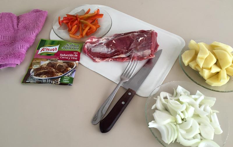 Bolsas Sabor al horno Knorr: Lomo carne vino