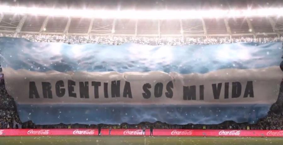 La vida es como un partido de Argentina - Coca-Cola, La copa de todos