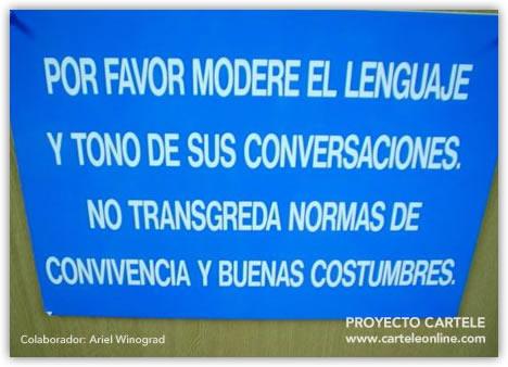 Modere el lenguaje