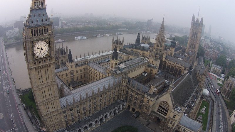 Drones en Londres