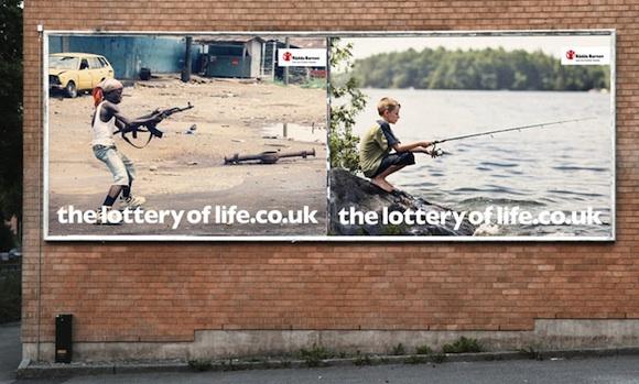 La lotería de la vida - Save the Children