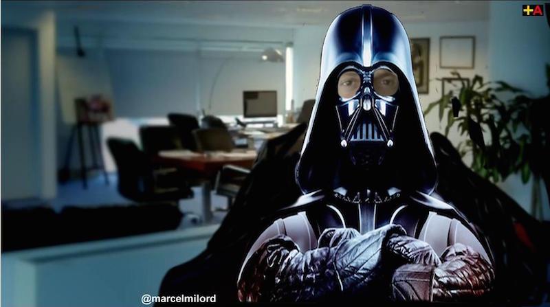 Massa le habla a Star Wars