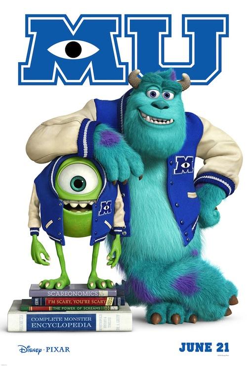 Monsters University (poster)