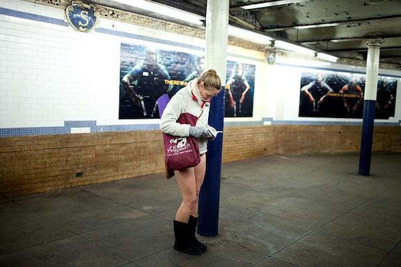 No pants subway ride 2012 en Nueva York
