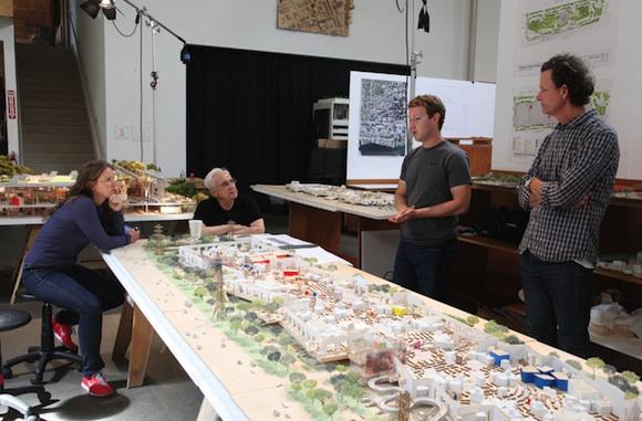 Fotos del nuevo Campus de oficinas de Facebook 2013
