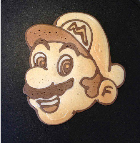 #PancakeDay 2016, el panqueque de Mario Bros
