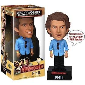 Phil The hangover - Talking Bobble Head
