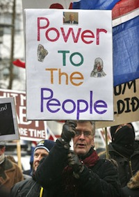 Power to the people Islandia