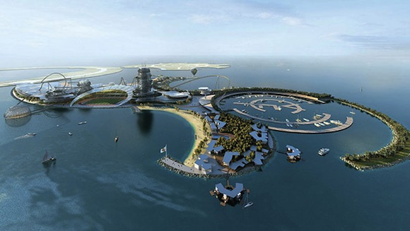 Real Madrid Resort Island en los Emiratos Arabes