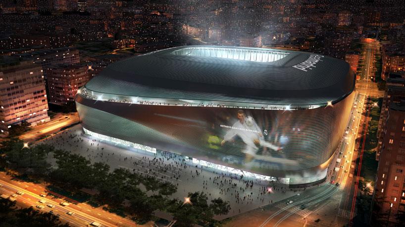 Rediseño del Estadio Santiago Bernabéu (Real Madrid)
