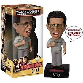 Stu The hangover - Talking Bobble Head