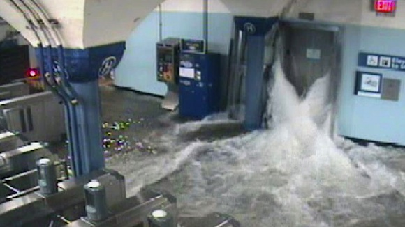 Huracán Sandy en Nueva Jersey
